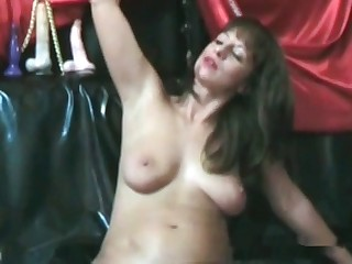 Busty milf and her fresh turd