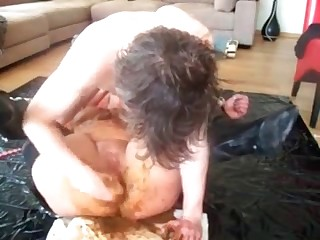 Scat domination with blonde