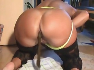 Big ass squeezed a nice load