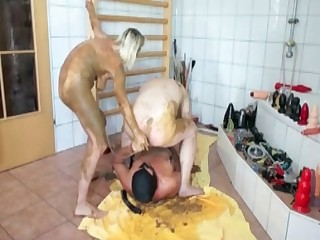 Dirtiest scat threesome action