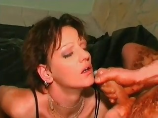 Filthy scat sex in doggy style